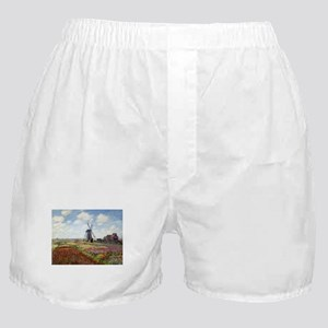 Monet Fields Of Tulip Boxer Shorts