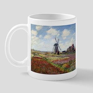 Monet Fields Of Tulip Mug