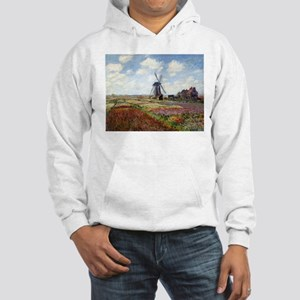 Monet Fields Of Tulip Hooded Sweatshirt