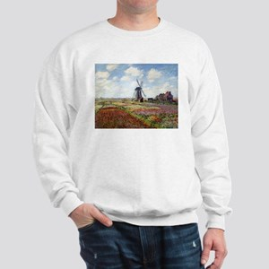 Monet Fields Of Tulip Sweatshirt