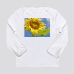 BACKYARD SUNFLOWER Long Sleeve Infant T-Shirt