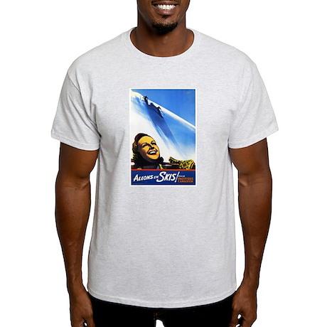 Canada Travel Poster 2 Light T-Shirt