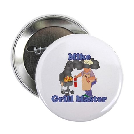 """Grill Master Mike 2.25"""" Button"""