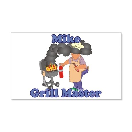 Grill Master Mike 20x12 Wall Decal