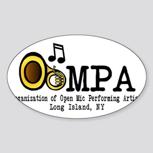 OOMPA Sticker (Oval)