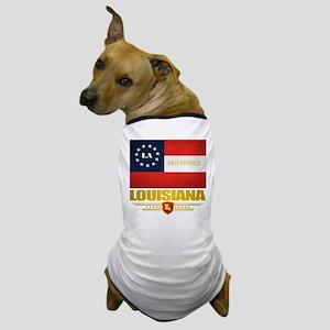 Louisiana Deo Vindice Dog T-Shirt