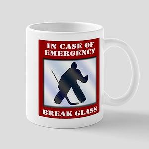 Emergency Hockey Goalie Mug