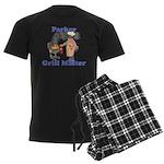 Grill Master Parker Men's Dark Pajamas