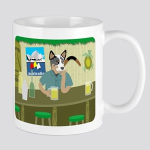 Australian Cattle Dog Tiki Bar Coffee Mug