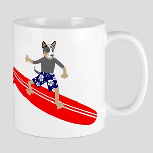 Australian Cattle Dog Longboard Coffee Mug