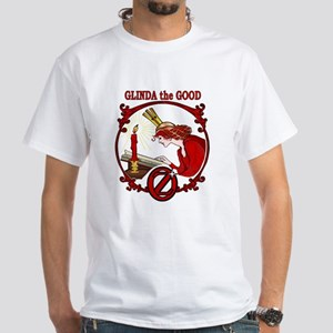 Glinda the Good White T-Shirt - to 4X!
