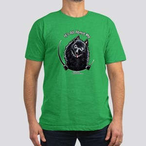 Schipperke IAAM Men's Fitted T-Shirt (dark)