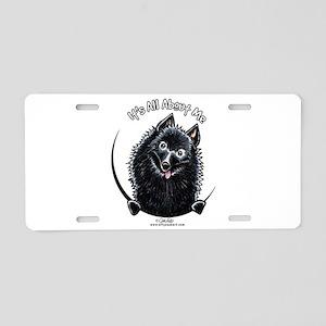 Schipperke IAAM Aluminum License Plate