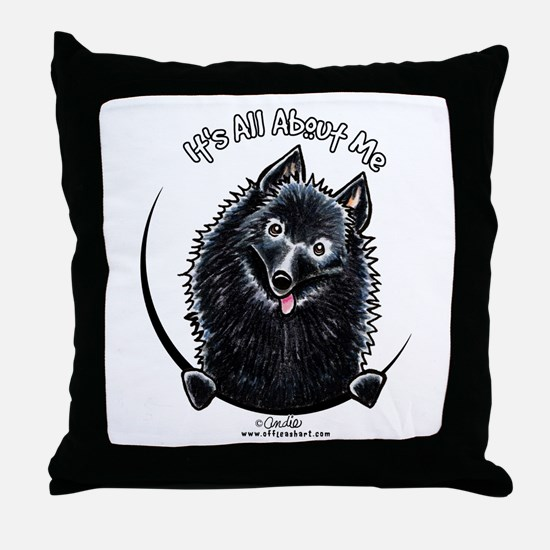 Schipperke IAAM Throw Pillow