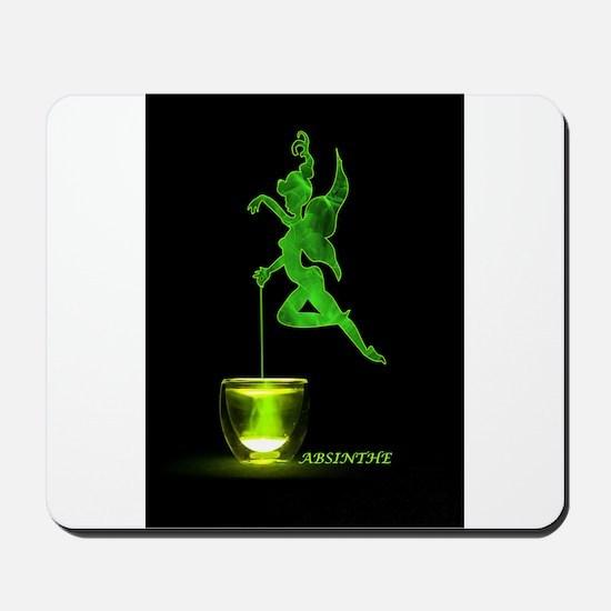 The Green Fairy Mousepad