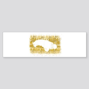 Rat Rod Silhouette Sticker (Bumper)