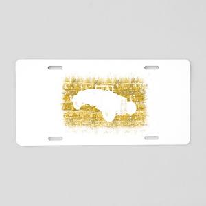 Rat Rod Silhouette Aluminum License Plate