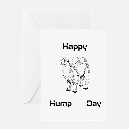 Happy Hump Day! Greeting Cards