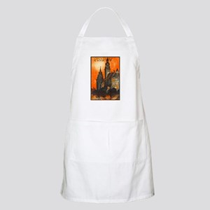 Poland Travel Poster 1 Apron