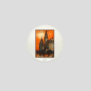 Poland Travel Poster 1 Mini Button