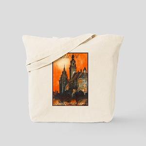 Poland Travel Poster 1 Tote Bag