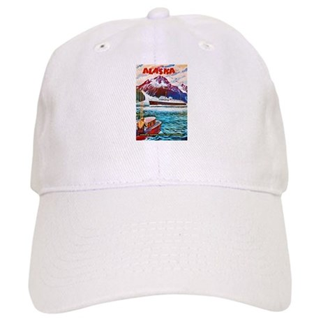 Alaska Travel Poster 1 Cap