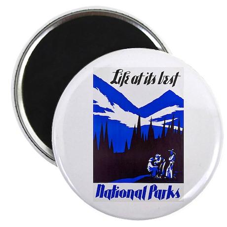 National Parks Travel Poster 4 Magnet