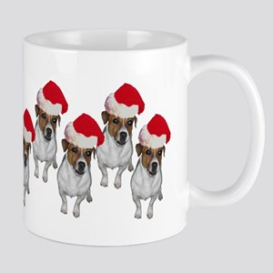 belle-santa-yardsign Mug