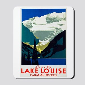 Canada Travel Poster 6 Mousepad
