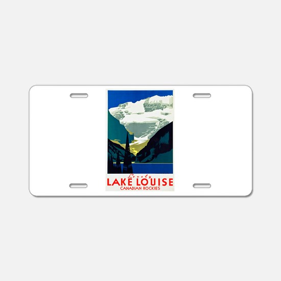 Canada Travel Poster 6 Aluminum License Plate