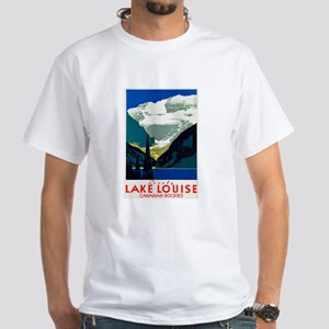 Canada Travel Poster 6 White T-Shirt