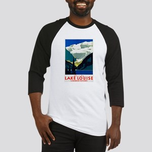 Canada Travel Poster 6 Baseball Jersey