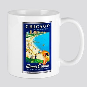 Chicago Travel Poster 1 Mug