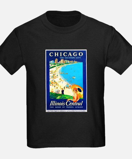 Chicago Travel Poster 1 T