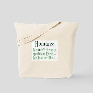 Humans Tote Bag
