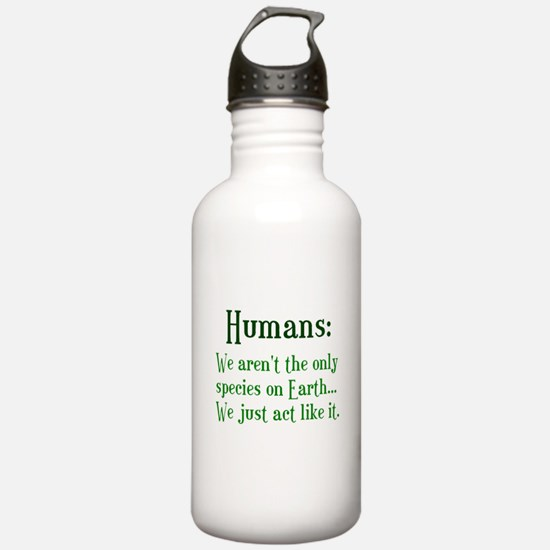 Humans Water Bottle