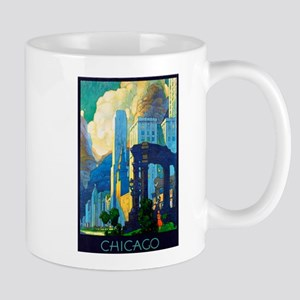 Chicago Travel Poster 3 Mug