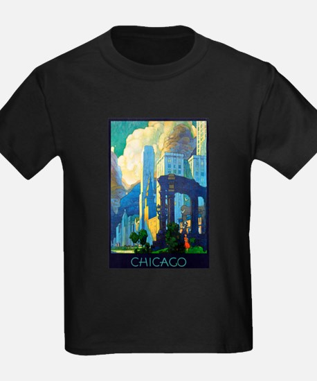 Chicago Travel Poster 3 T
