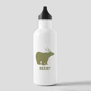 Beer Deer Bear Stainless Water Bottle 1.0L