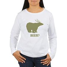 Beer Deer Bear Women's Long Sleeve T-Shirt