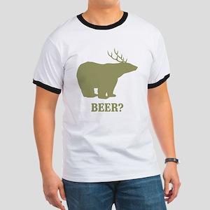 Beer Deer Bear Ringer T