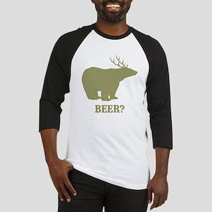 Beer Deer Bear Baseball Jersey