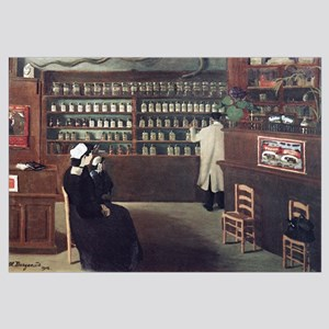 The Pharmacy, 1912 artwork