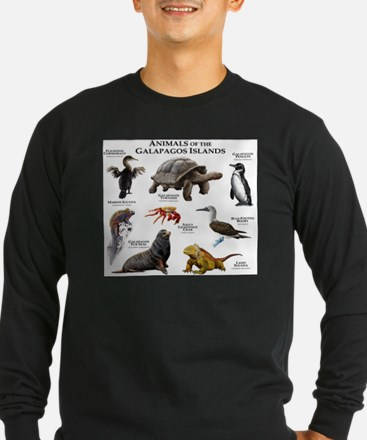 Animals of the Galapagos Islands T