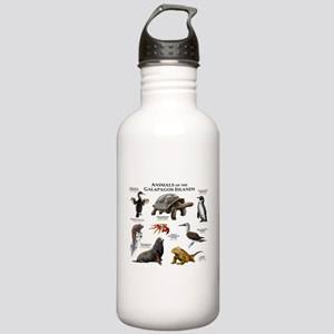 Animals of the Galapagos Islands Stainless Water B