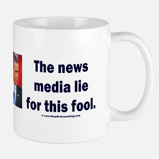News Media Lies Mug