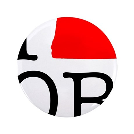 "I Love OR Oregon 3.5"" Button (100 pack)"