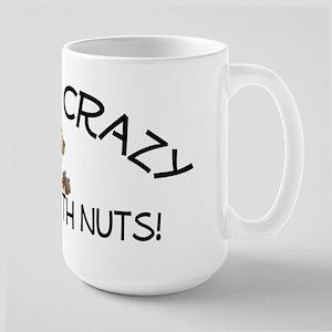 Crazy Squirrel Large Mug