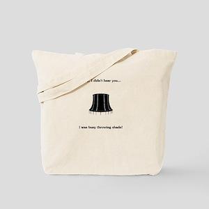 Throw Shade Tote Bag