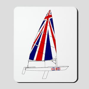 UK Britain Dinghy Sailing Mousepad